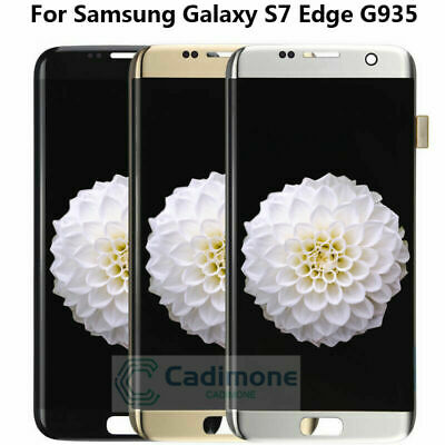 For Samsung Galaxy S7 Edge G935 G935A G935F LCD Display Screen Touch Digitizer R