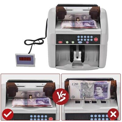 Multi-Currency Counter Automatic Money Counting Machine Banknote Counting AU