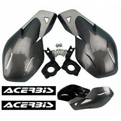 Protection main Carbon noire Stickers Pour Quads Aeon Goes Derbi Dinli