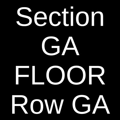3 Tickets The Band Camino 10/9/19 The Van Buren Phoenix, AZ