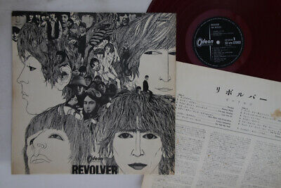 LP BEATLES Revolver OP8443 ODEON JAPAN Vinyl