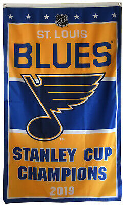 St.Louis Blues 2019 Stanley Cup Finals Champions Banner 3X5FT flag