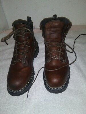 Mens Red Wing Work/Safety Boot #2326~Size 8 D~Steel Toe~Excellent Cond~USA Made!
