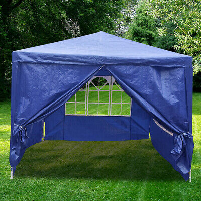 4 x 3 m Garden Party Marquee Outdoor Awning Canopy Tent Patio Sun Shade Shelter