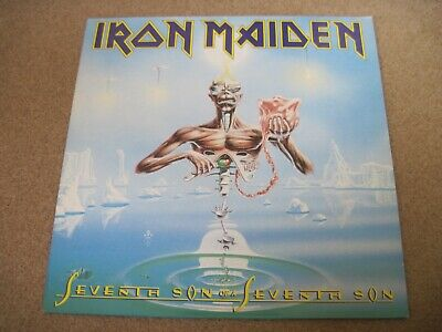 IRON MAIDEN Seventh Son Of A Seventh Son & INNER 1988 EMI  superb EX