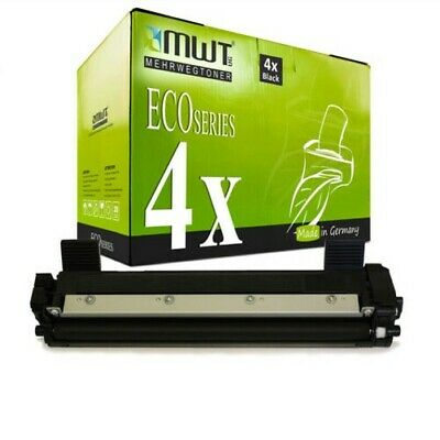 4x MWT Eco Toner Compatibile con Brother HL-1211-W MFC-1910-W HL-1110-R MFC-1810