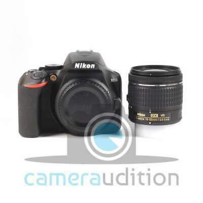 Genuino Nikon D3500 Digital SLR Camera + AF-P 18-55mm f/3.5-5.6G VR Lens