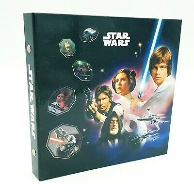 Album / Collecteur Star Wars Cosmic Shell (Leclerc 2015) - Complet 54/54