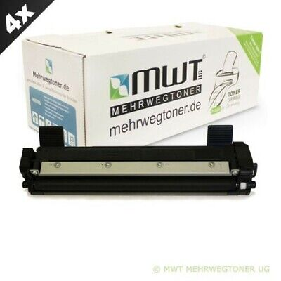 4x MWT Eco Toner Compatibile con Brother DCP-1510 HL-1210-W HL-1212-W HL-1110-E