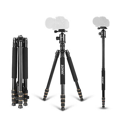 ZOMEI Z669 Professional Aluminium Tripod Monopod Travel for Canon Nikon Camera