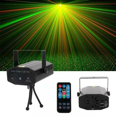 Laser Projector Stage Lights LED RGB Lighting Xmas Party Clue DJ Disco Lamp