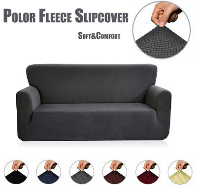 1-4 Seater Slipcover Stretch Sofa Covers Couch Cover Elastic Furniture Protector