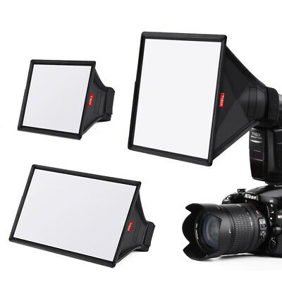 3in1 Flash Diffuser Translucent Camera SpeedlightLight Softbox for Nikon TK11