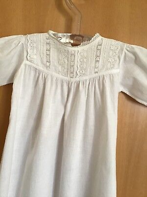 Vintage Hand Stitched Christening Gown