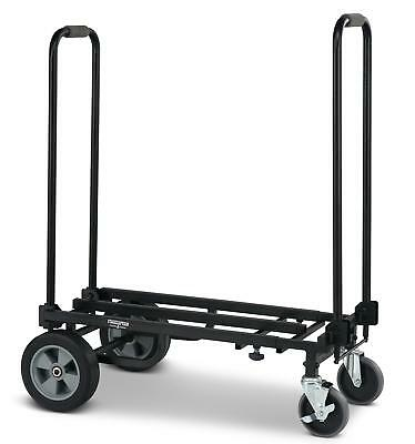 Valise A Roulettes Chariot D'transport Berline Trolley Durable 150Kg Maximale