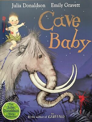 Julia Donaldson Story Book: CAVE BABY - NEW