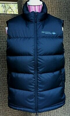 Mountain Designs 600 Mens Down Puffer Vest Size M Excellent Used Condition