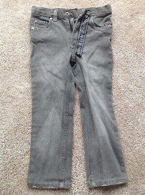 Boys Slim Fit Skinny Jeans Trousers Grey Denim Age3-4 Make Hurley New With Tags