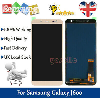 For Samsung Galaxy J6 2018 J600F LCD Screen Display Touch Digitizer Replacement