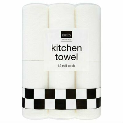Chef's Essentials Kitchen Towel 12 Roll
