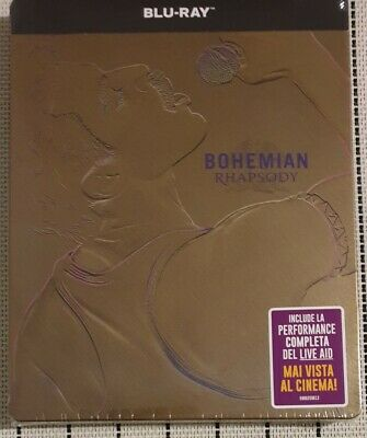 Bohemian Rhapsody Steelbook Blu-ray Audio Italiano English Rami Malek The Queen
