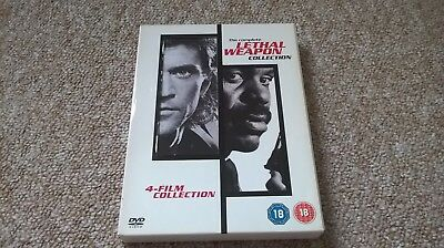 Lethal weapon 1-4 dvd boxset.
