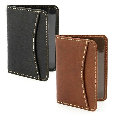 Genuine Leather Oyster Card / Travel Pass Holder