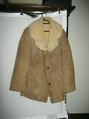 Vintage Sheep Skin Jacket (Skin In Ballan) Chest 50Cms