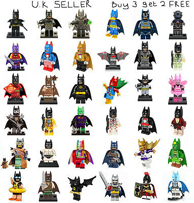 Batman DC Minifigure Batman Movie Batsuit Dark Knight Zur-En-Arrh Mini Figure