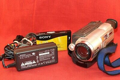 Sony Handycam CCD-TRV308 8mm Video8 Hi8 Camcorder Player Camera Video Transfer