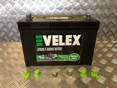 Evelex  12V 110Ah Hd Ultra Deep Cycle Extra Long Life Leisure Battery