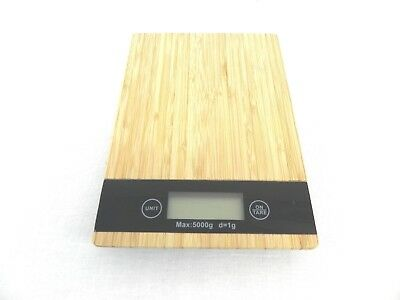 Wooden top digital scale kitchen scale jewelry scale spice scale  1-5000 GRAMS