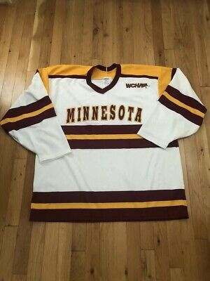 detailed look 9a0bf d48eb CCM VINTAGE MINNESOTA Golden Gophers Hockey Jersey, Large, WCHA, 93-94, NCAA
