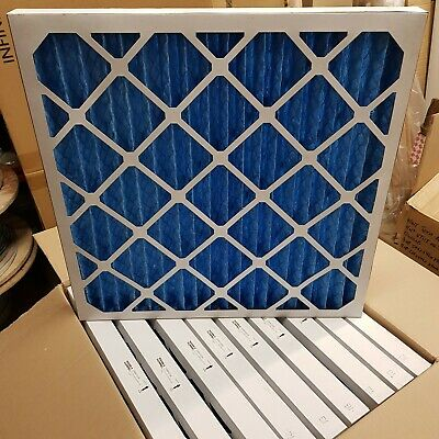 10 x MANN + HUMMEL IF2 G4 Pleated Air Panels 596x596x47mm Cards Ventilation