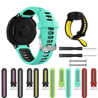 Soft Silicone Strap Replacement Watch Band For Garmin Forerunner 630/735XT Watch
