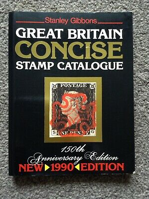 Stanley Gibbons Great Britain Concise Stamp Catalogue 1990