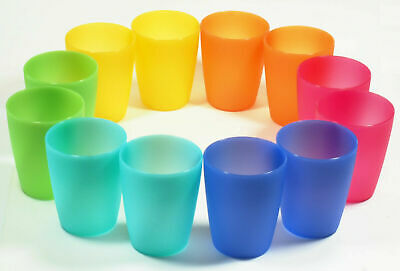 f6e88d60c12 Reusable Plastic Cups Tumblers Unbreakable Party Picnic BBQ Kids Outdoor