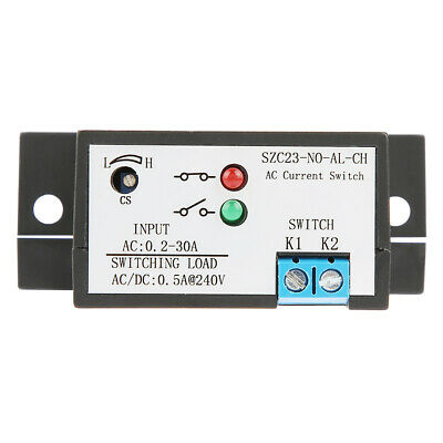 SZC23-NC-AL-CH Automatic Adjustable Normally Open AC Current Sensing Switch