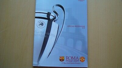FC BARCELONA V MANCHESTER UNITED MAY 2009 (CL Final in Rome)