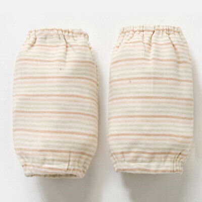 Toddlers Baby Sleeve Cover Striped Dotted Cotton Kitchen Home Cuff Protective CB