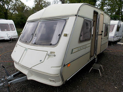 ABI ACE Globetrotter MK4 1991 4 Berth Double Dinette Lightweight Touring Caravan
