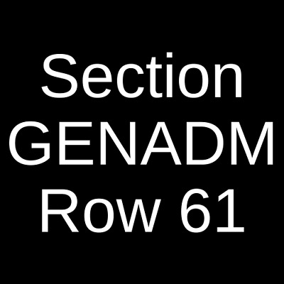 4 Tickets Tyler The Creator 10/5/19 Independence, MO