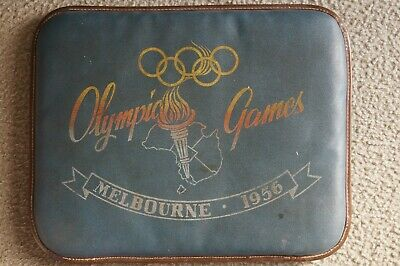Olympic Games Collectable 1956 Melbourne Original Padded Seat Cushion