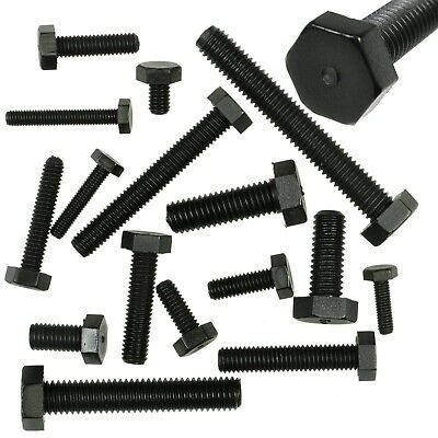 M3 M4 M5 M6 Black Hex Nylon Machine Screws Hexagonal Bolts Uk Stock Free Postage