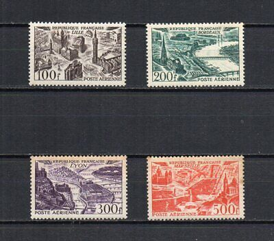 FRANCE - FR1394 - PA - 1949 - Timbres n° 24 à 27 - N** - Rouille - 110 €