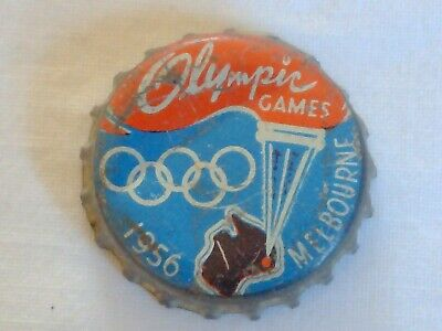 Olympic Games Collectable 1956 Melbourne Vintage Games Bottle Cap
