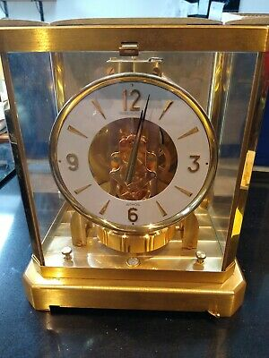ATMOS vintage carriage clock by Jaeger LeCoultre 1960-70s. #265983