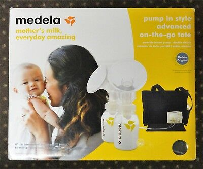 Medela Pump In Style Advanced On-the-Go Tote Portable Breast Pump 57063 SEALED