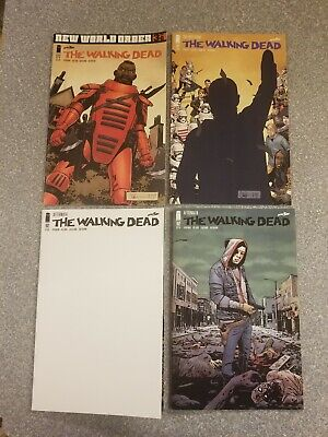 "The Walking Dead DEATH OF RICK"" Issues 177,191, 192a & 192b FIRST PRINTS"