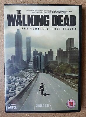 The Walking Dead The Complete First Season DVD 2011.